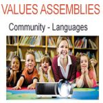 Values PowerPoint Presentation Assembly on Languages