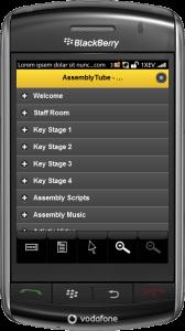 mobile assemblies